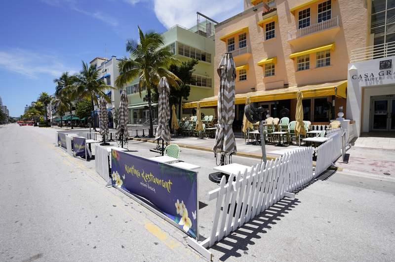 Miami Beach file photo (AP Photo/Wilfredo Lee)