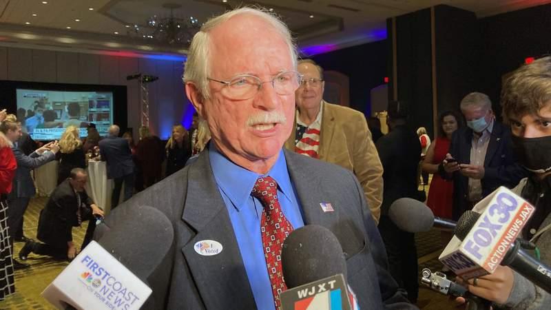U.S. Rep. John Rutherford talks about winning a third term in Congress.