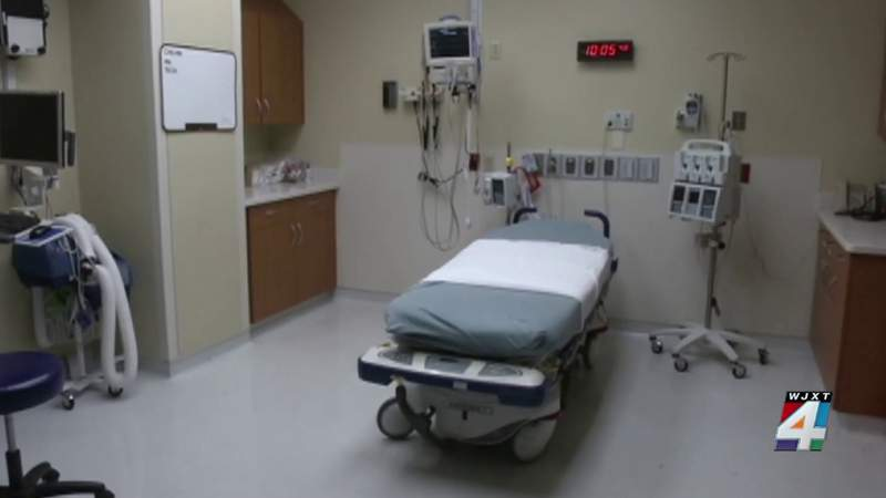 COVID surge putting strain on hospital beds
