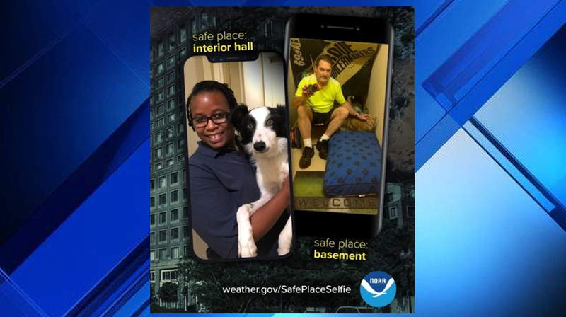 Safe Place Selfie Day, snap a photo and send it into SnapJAX