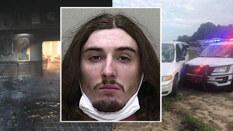 Steven Shields is accused of ttempted second degree murder, three felony counts of evidencing prejudice, arson to a structure, burglary of an occupied structure and felony fleeing or attempting to elude.
