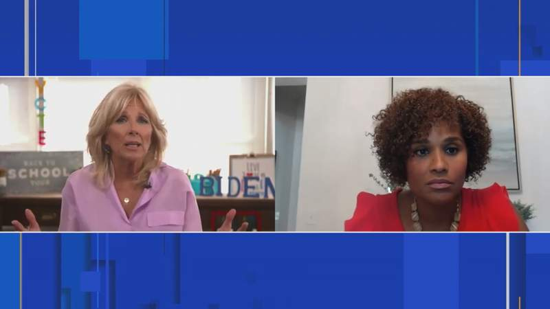 Dr. Jill Biden talks about education and why it's so important to her