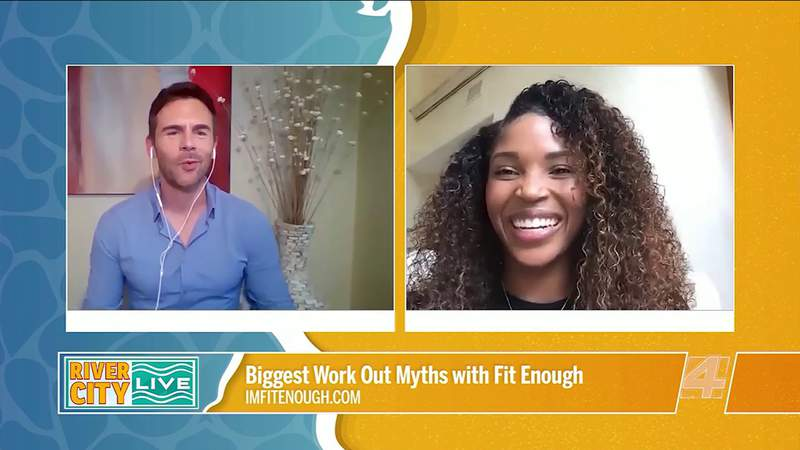 Biggest Work Out Myths with Fit Enough   River City Live
