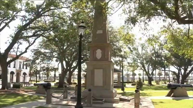 St. Augustine city council votes to remove the Confederate statue downtown