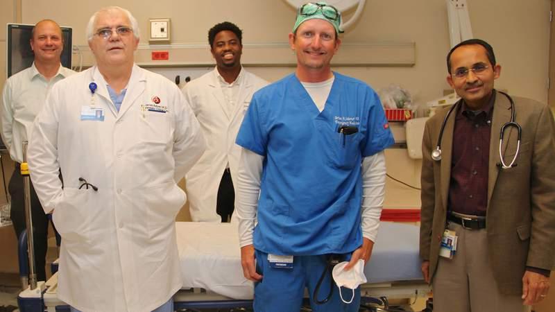 "Flagler Hospital's ""Fab Five"" physicians"