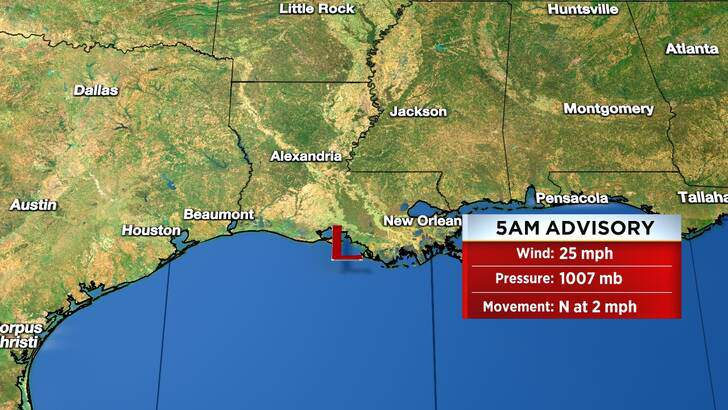 Tropics Forecast Cone at 5:05 Thursday Morning, September 16th