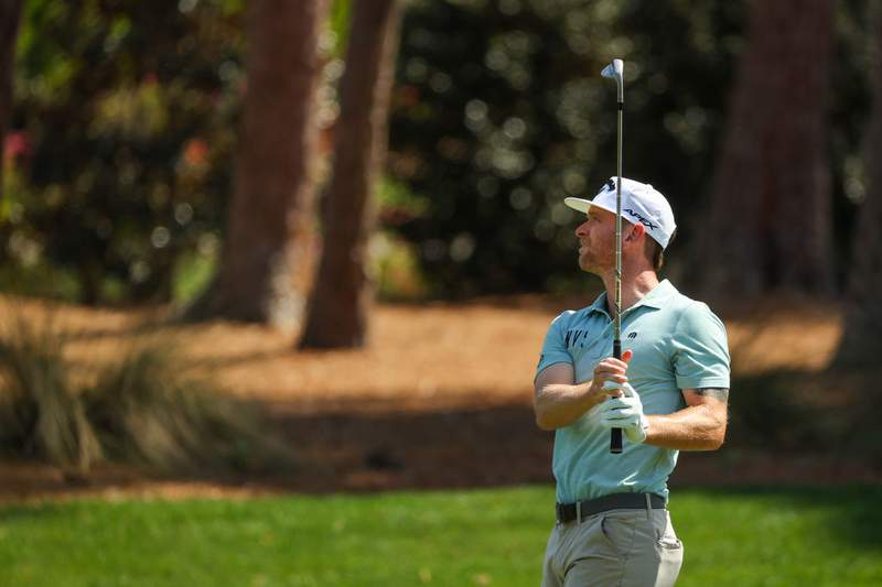 Nease High grad Tyler McCumber finished T-22 at The Players Championship on Sunday. (Photo by Kevin C. Cox/Getty Images)