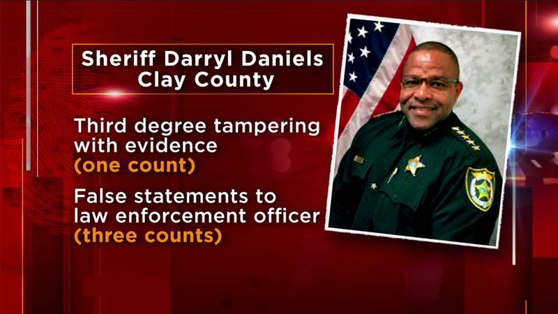 Former Clay sheriff facing charges pressured staff for campaign contributions, FDLE says