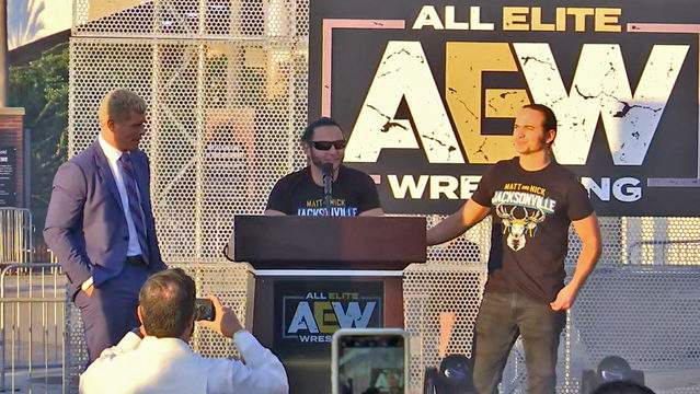 AEW Announces it's formation in Jacksonville