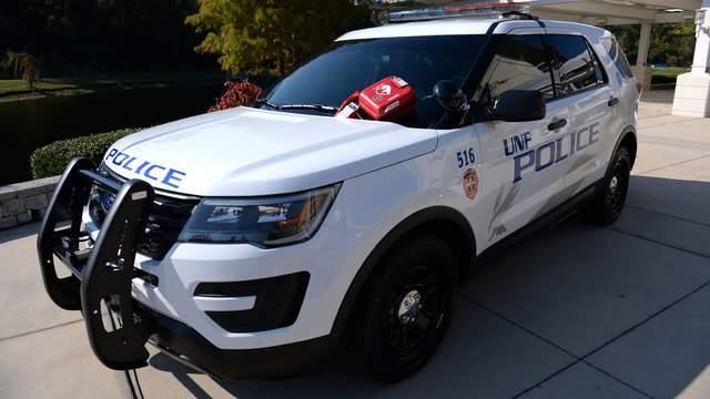 New UNF police cruiser (Photo credit: Jennifer Grissom, UNF photographer)