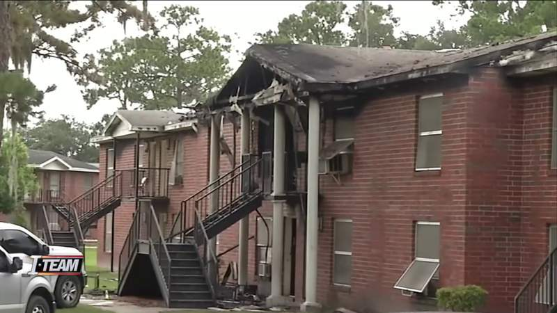 New details on an explosive fire at a Jacksonville apartment one year ago