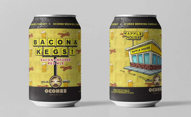 Waffle House is releasing a bacon-infused beer