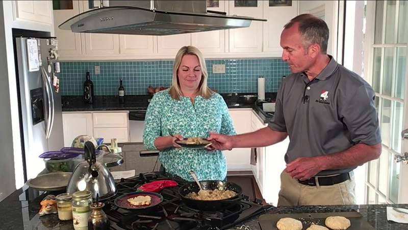 Richard Nunn tried some pantry-style cooking and ended up with quarantine biscuits and gravy.