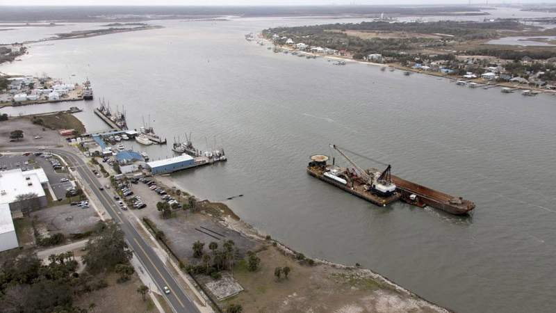 The Dutra Group, contractors for the U.S. Army Corps of Engineers, began work on the Jacksonville Harbor Deepening project on Feb. 3, 2018.