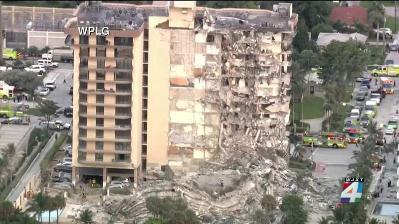 Man was sleeping when building began to collapse