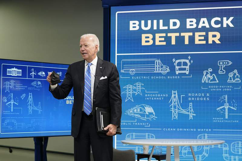 White House taps populist message as Biden pushes $3.5T plan
