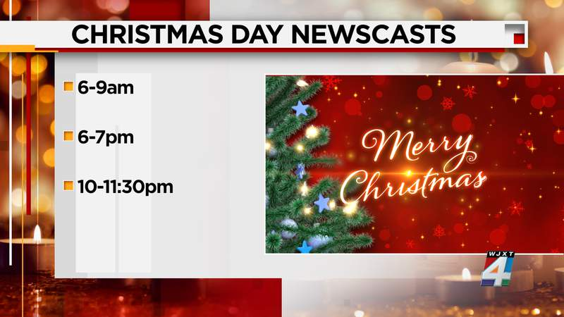 Christmas Day programming changes