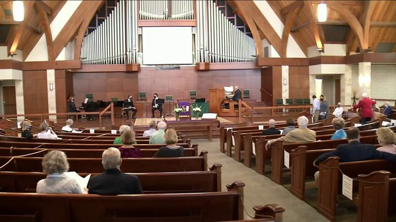 Jacksonville church reflects on difficult year during pandemic