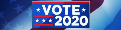 Vote 2020 mobile banner