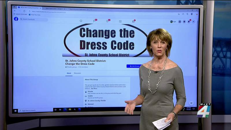 Parent-led group creates tool to report dress code incidents in St. Johns schools