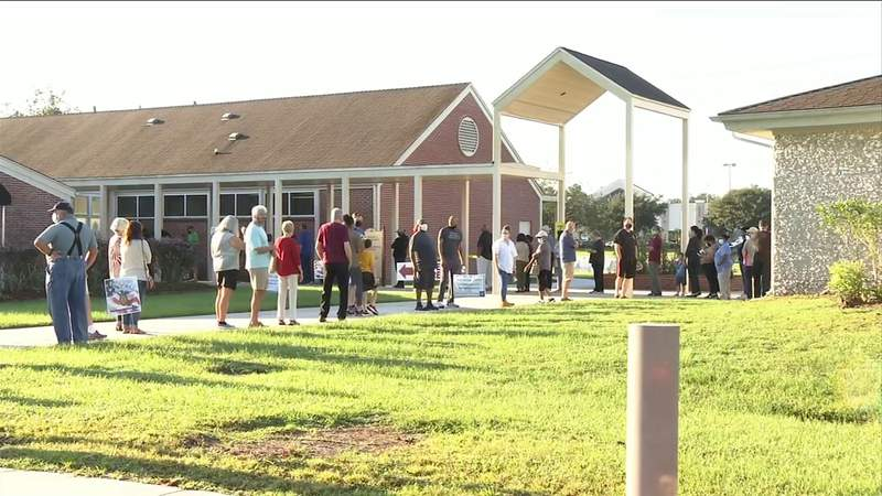 Record turnout for Georgia's early voting
