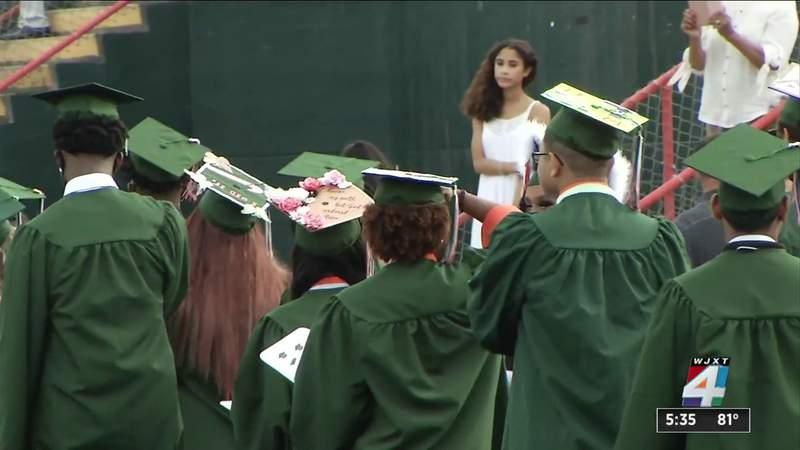 7 Jacksonville high schools reschedule graduations due to weather concerns