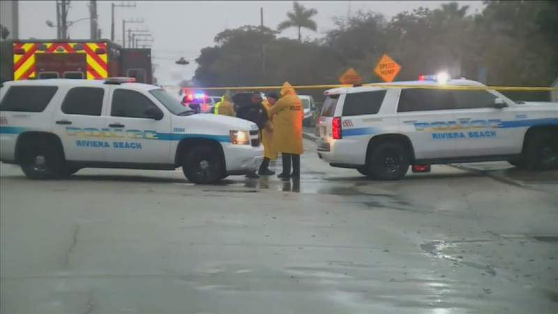 Two people were killed and two others were injured in a shooting in Riviera Beach.