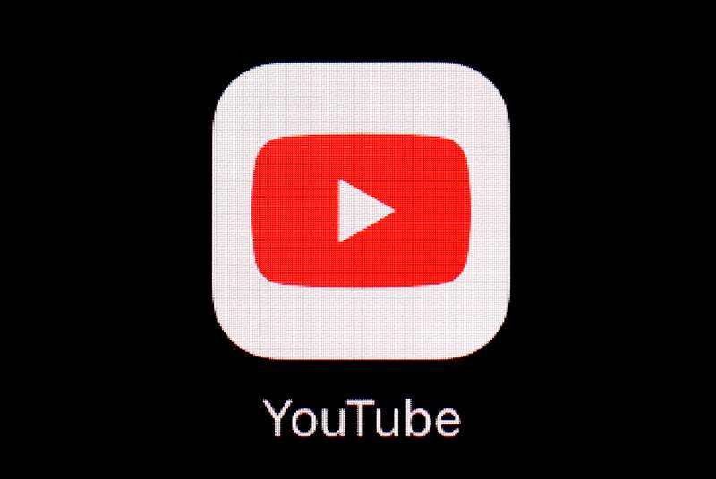 FILE - This March 20, 2018, file photo shows the YouTube app on an iPad. YouTube is making clear there will be no birtherism on its platform during this year's U.S. presidential election. Also banned: Election-related deepfake videos and anything that aims to mislead viewers about voting procedures and how to participate in the 2020 census. The Google-owned video service clarified its rules ahead of the Iowa caucuses Monday, Feb. 2, 2020. (AP Photo/Patrick Semansky, File)