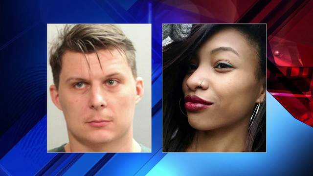 Photo of Konstantine Rudenko provided by the Jacksonville Beach Police Department and photo of Leola-Rosa Williams