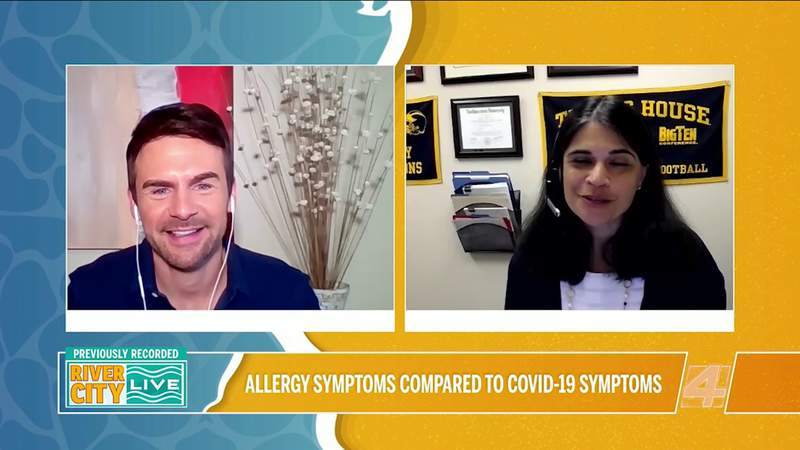 Comparing Allergy and Covid-19 Symptoms   River City Live