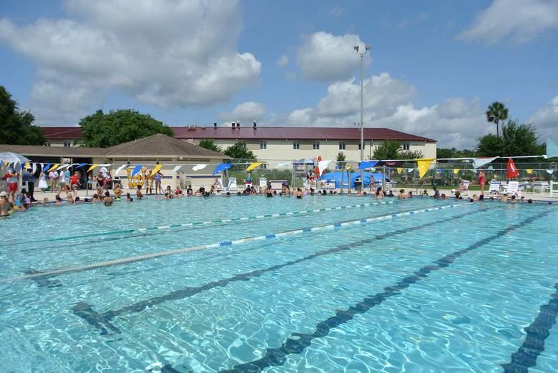 The Palm Coast Aquatics Center will be closed at least through April 30.