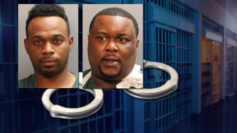 Cornell Williams (left) and Victor Williams have been charged with murder in the shooting death of a man on Moncrief Road.