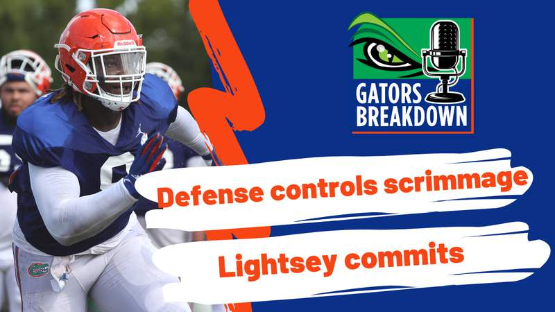 Defense gets the best of the offense in the first fall scrimmage ahead of the 2021 season.