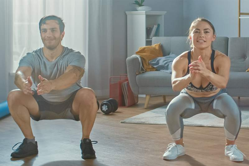 The Openfit fitness app provides access to over 450 live, trainer-led classes each week.