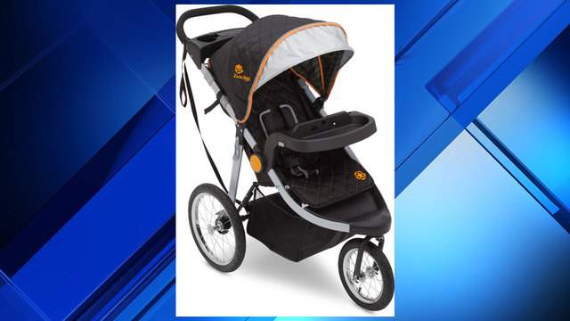 J is for Jeep brand cross-country all-terrain jogging stroller (Photo: U.S. Consumer Product Safety Commission)