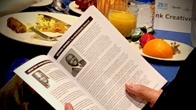 Orlando civil rights icon Pappy Kennedy was honored during an annual prayer breakfast on Martin Luther King Jr. Day.