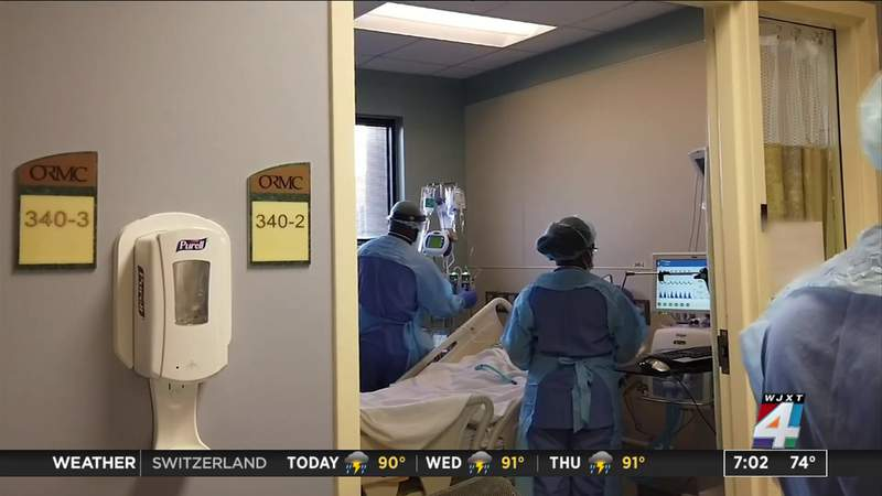 Spike in Covid hospitalizations in the state of Florida