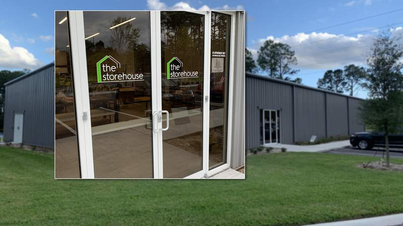 New Life Christian Fellowship on Hodges Boulevard has opened a new thrift store-style community store that allows shopping by appointment only.