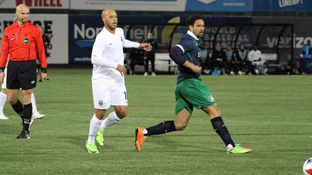 Armada midfielder J.C. Banks scored his second goal of the year to help Jacksonville remain unbeaten in a 1-1 draw with the New York Cosmos.