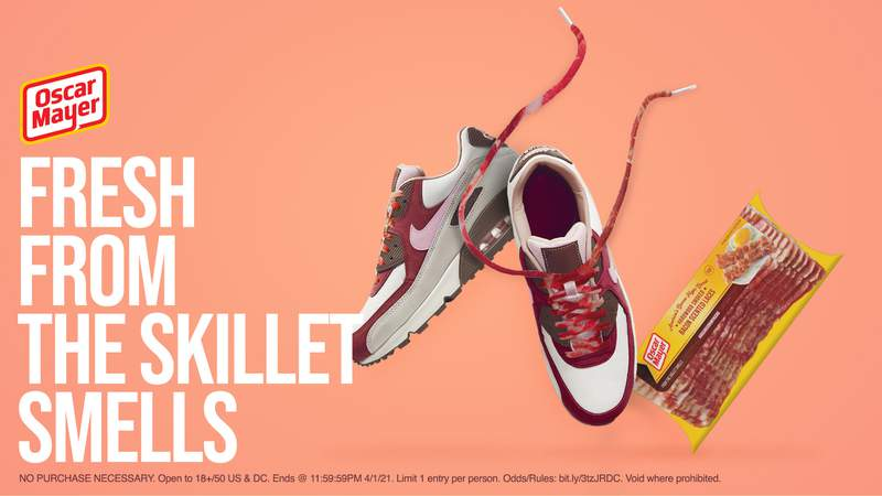 Oscar Mayer offering free shoelaces that smell like bacon