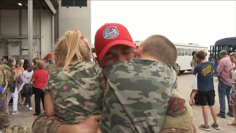 Red Horse squadron home from deployment