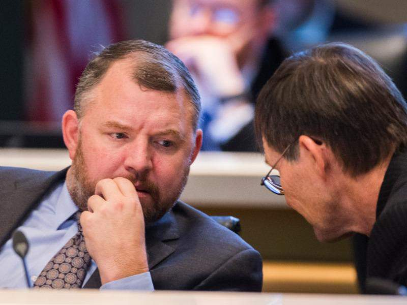 """Sen. Rob Bradley, a Fleming Island Republican who sponsored the bill (SB 172), has argued that local regulations on sunscreens would send """"mixed signals"""" to people about the importance of using the substances to prevent skin cancer."""