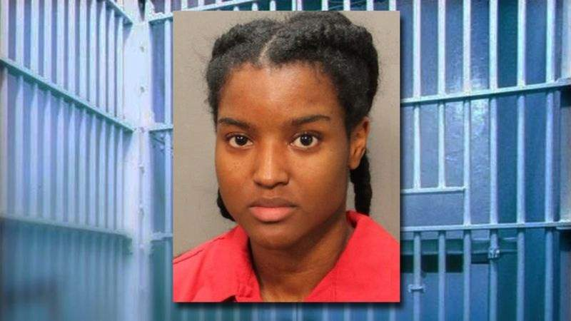 GF Default - Brianna Williams booked into jail after release from hospital
