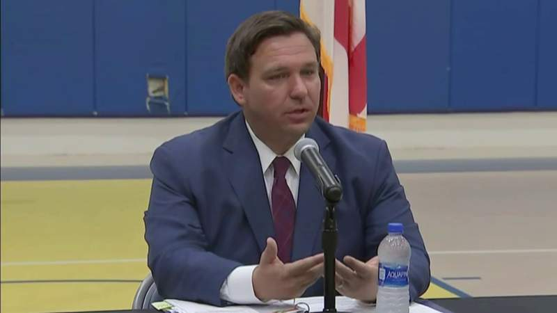DeSantis on youth activities: 'We trust parents to use common sense'
