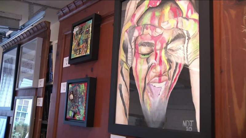 Jacksonville art show focuses on many issues of our time
