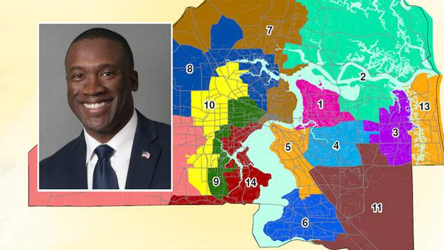 City property records show Terrance Freeman lives in Council District 6. He was just appointed to represent District 10.