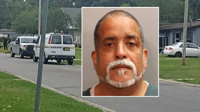 Previous booking photo of Carlos Rivera Sr., who police believe set a home on fire. The Jacksonville Sheriff's Office says Rivera will be charged with aggravated battery and arson.