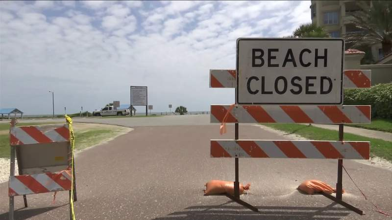 Nassau County officials surprised by decision to reopen Jacksonville's beaches