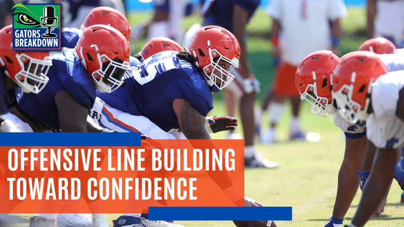 Florida's offensive line is one of the team's biggest questions for 2021