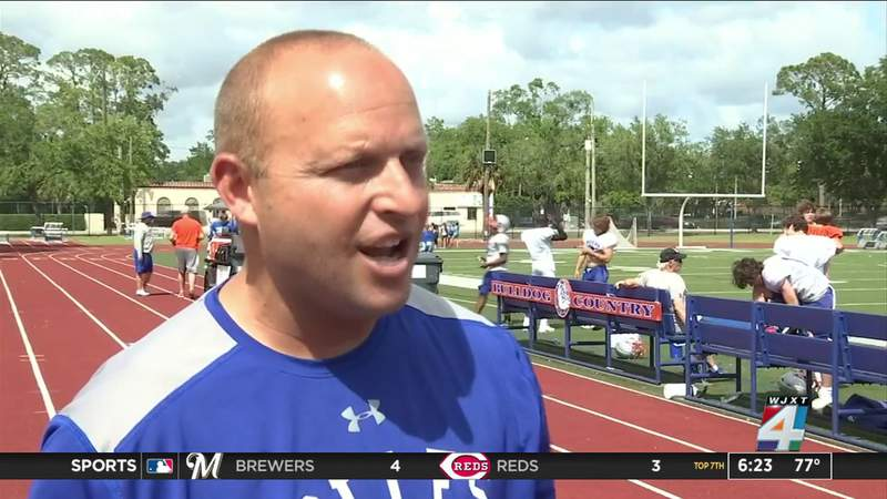 Bolles' spring football goal: Get better every day